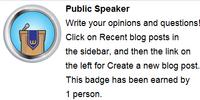 Oratore pubblico