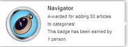 Navigator (earned hover)