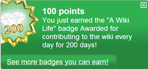 Bestand:A Wiki Life (earned).png