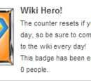 Herói da Wiki!