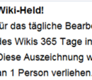 Wiki-Held!