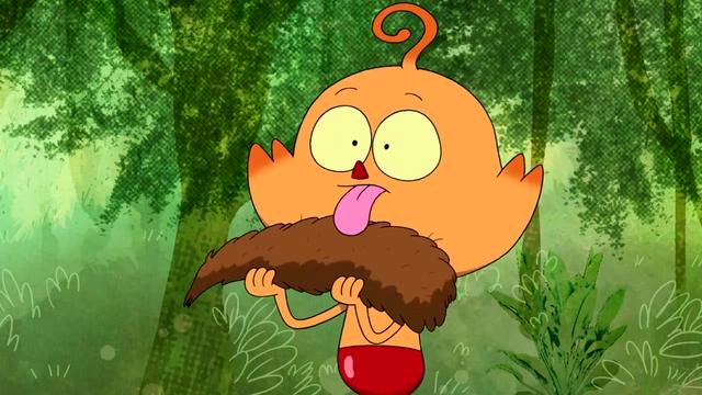 File:Foo licking Tail.png