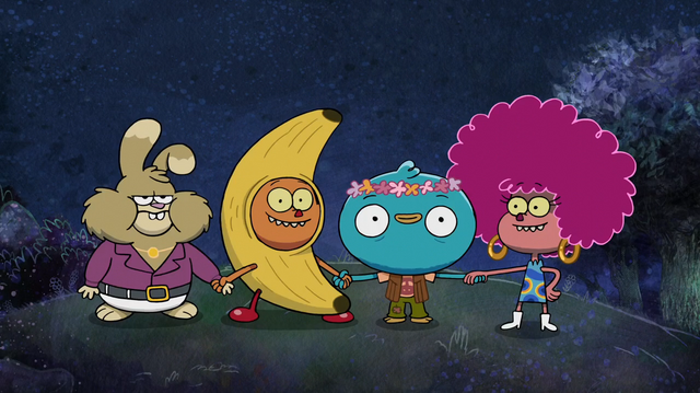 File:Harvey Beaks and His Friends.png