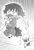 Kouta wins in duel