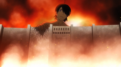 Attack on araragi