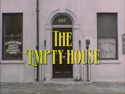 SHG title card The Empty House