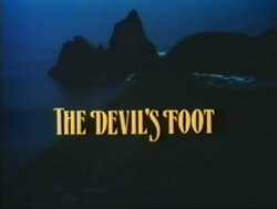 SHG title card The Devil´s Foot