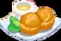 Oven-Sesame Tapioca Bread plate