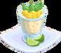 Oven-Tapioca Pudding plate