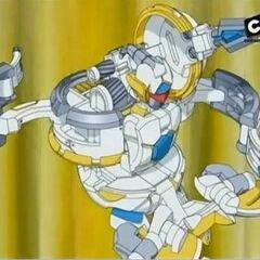 Aranaut i Crusher Bojowy w kulkowej formie