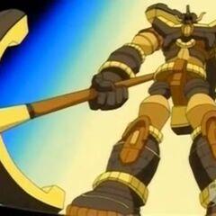 Hammer Gorem in Bakuganform