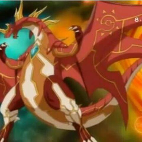 Drago mit dem Kern der Ruhe vereint