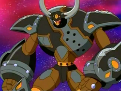Rex Vulcan Bakugan form