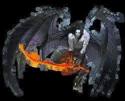 Ardentis demon-human form