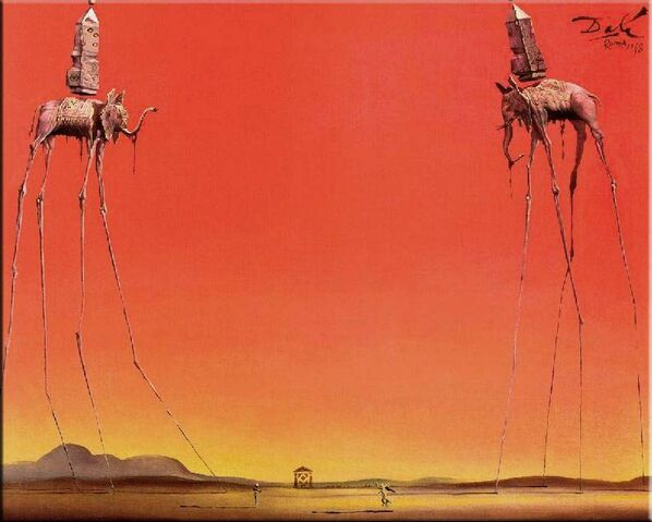 File:The Elephants - Salvador Dali.jpg