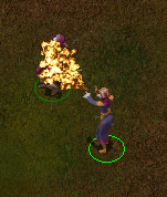 Burning Hands Screencap