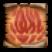 Conjure Fire Elemental Icon Scroll