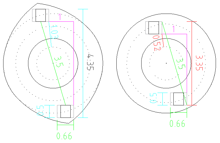 Field-frame ring layout