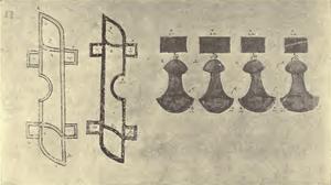 Torsion springs - Codex P fol. 69 verso - Schneider 1906