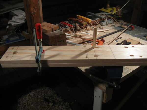 Making the stretcher - 03
