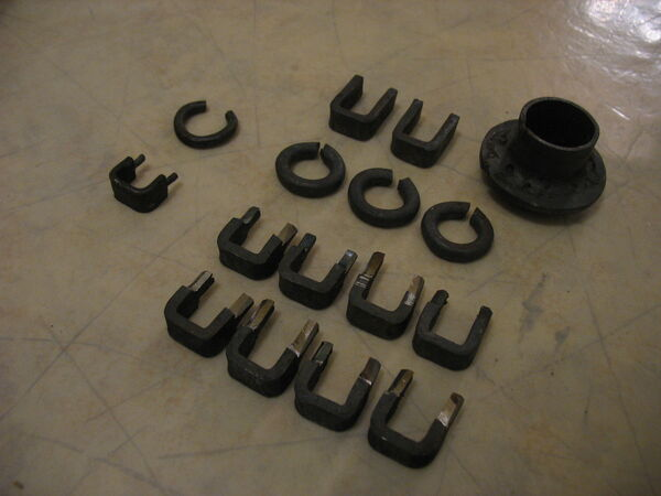 Forged rings, pi-brackets and washer - 02