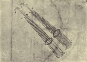 Arms - Codex M fol. 57 verso - Schneider 1906
