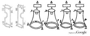 Torsion springs - Codex M fol. 57 recto