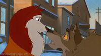 Jenna and balto
