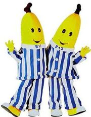 Bananas in pyjamas