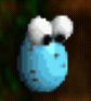 Blue egg icon