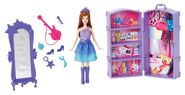 Barbie The Princess and The Popstar Keira Mini Doll Set