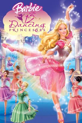 Barbie in The 12 Dancing Princesses Digital Copy