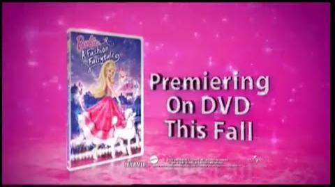 Barbie in A Fashion Fairy Tale Official Trailer HQ