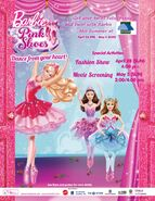 Barbie final event poster