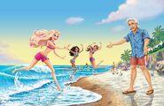 Book Illustration of Mermaid Tale 11