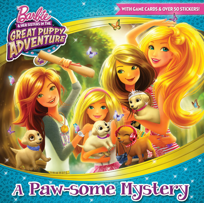 Image result for Barbie & Her Sisters in The Great Puppy Adventure book 1