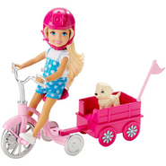 Great Puppy Adventure Chelsea Doll with Puppy and Trike 1