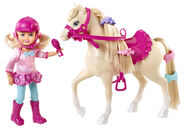 Barbie & Her Sisters in A Pony Tale Doll Chelsea and Horse 2