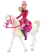 Barbie & Her Sisters in A Pony Tale Doll Barbie and Horse 1
