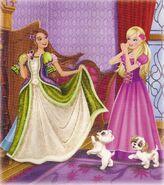 Barbie & The Diamond Castle Book Scan 3