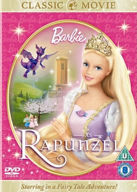 Barbie as Rapunzel Classic Cover
