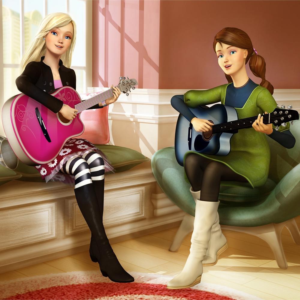 Barbie Rock N Royals Wallpaper: Diamond-Castle-Some-stills-barbie-movies-24680267