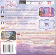 Barbie and the Magic of Pegasus GBA Cover Back EU