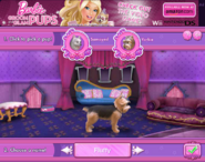 Barbie Groom and Glam Pups Browser Game Yorkie