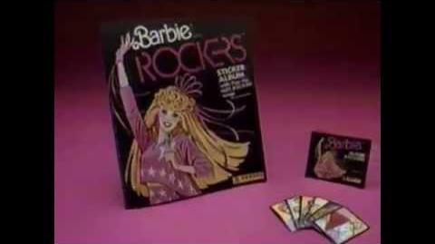 Barbie and the Rockers Stickers Commercial