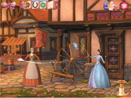 Barbie as the Princess and the Pauper Video Game Screenshot 2