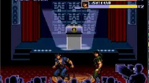 Streets of Rage 3-Shiva vs Shiva