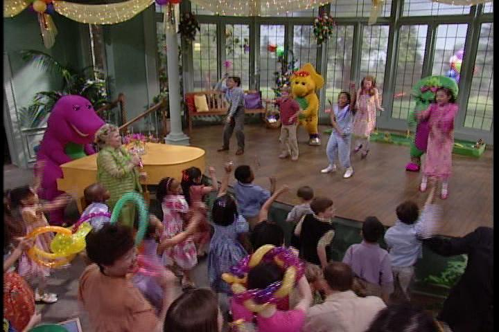 Barneys Best Manners Your Invitation To Fun Barney Wiki - Concert barney wiki