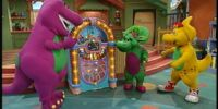 Barney's Dino Dancin' Tunes
