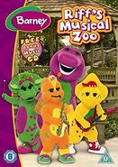 Riff's Musical Zoo 2007 UK DVD with Music CD
